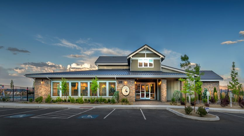 Carson Hills Apartments - Carson City NV - Clubhouse - Entrance