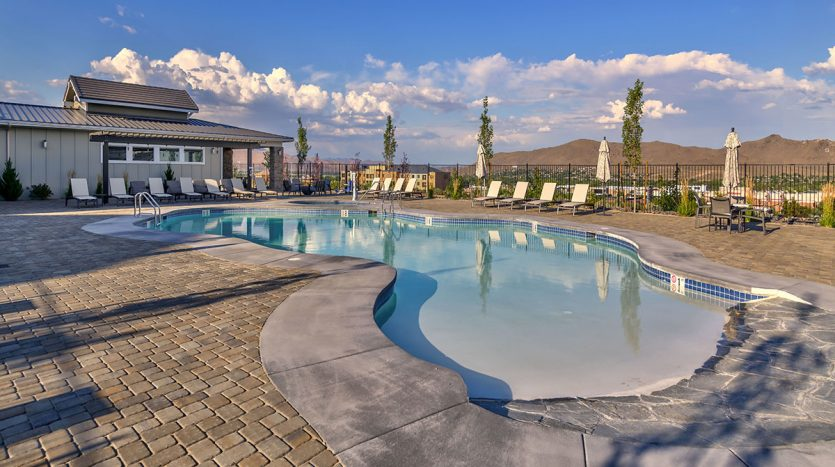 Carson Hills Apartments - Carson City NV - Clubhouse - Pool Deck