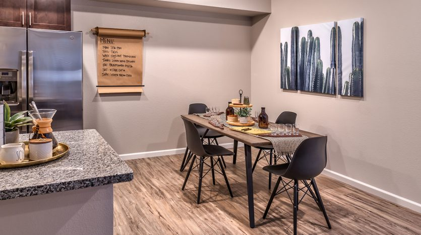 Carson Hills Apartments - Carson City NV - Two Bedroom - Dining Area