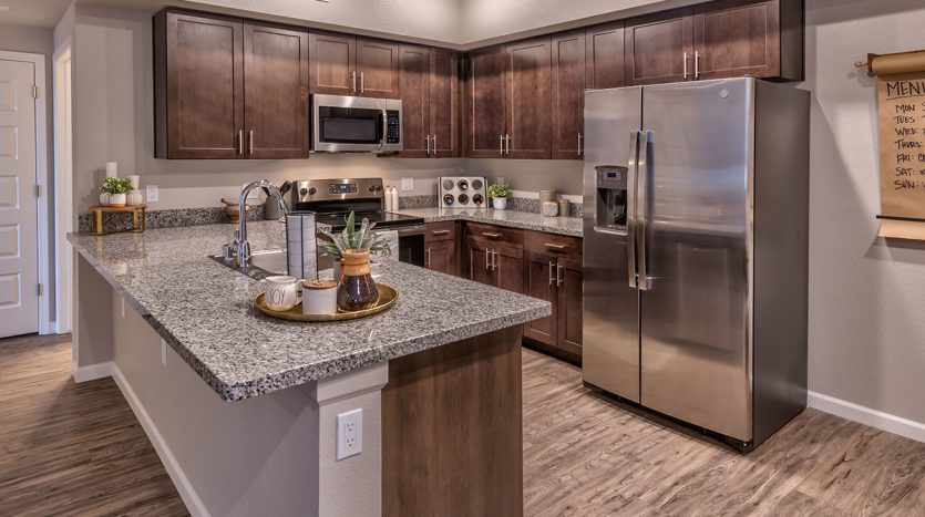 Carson Hills Apartments - Carson City NV - Two Bedroom - Kitchen
