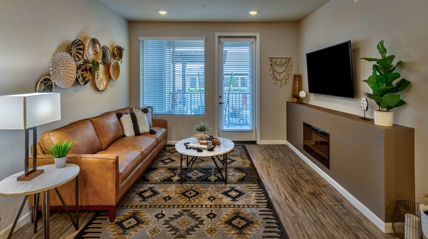 Carson Hills Apartments - Carson City NV - Two Bedroom - Living Room