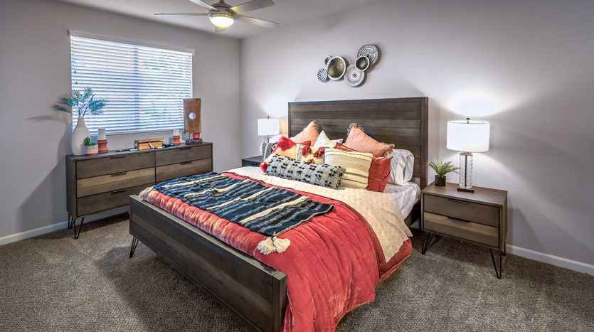 Carson Hills Apartments - Carson City NV - Two Bedroom - Master Bedroom